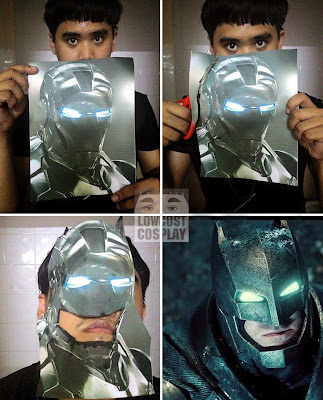 Disfraz de Batman cosplay