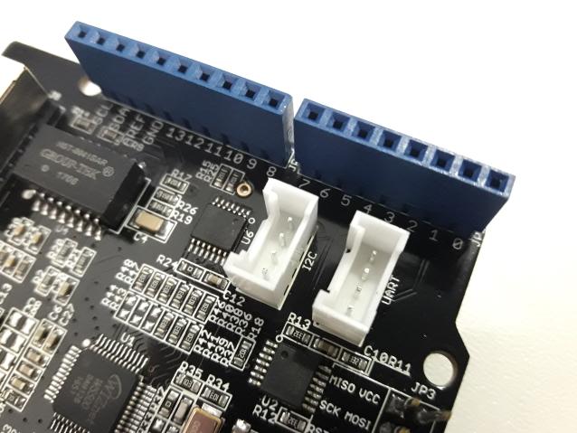 W5500 - Detalhe conectores Grove