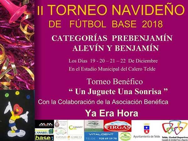 Fútbol base solidario 2018 en Telde, Gran Canaria