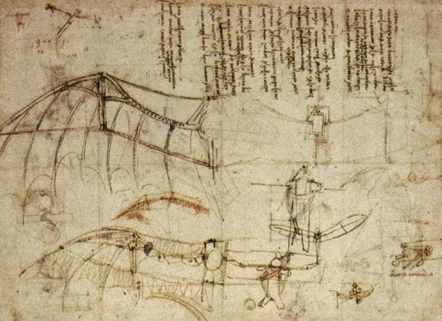 Flight - Leonarda da Vinci