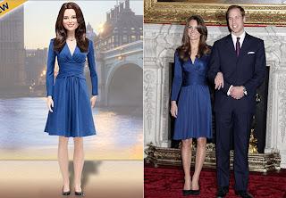 BONECA+7 Kate Middleton ganha versão em boneca