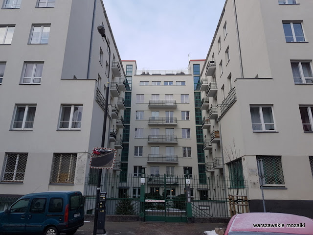 Warszawa Warsaw ulica Powiśle kamienica architektura zabudowa