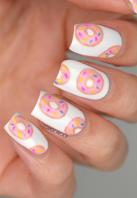 Doughnut Donut Nail Art