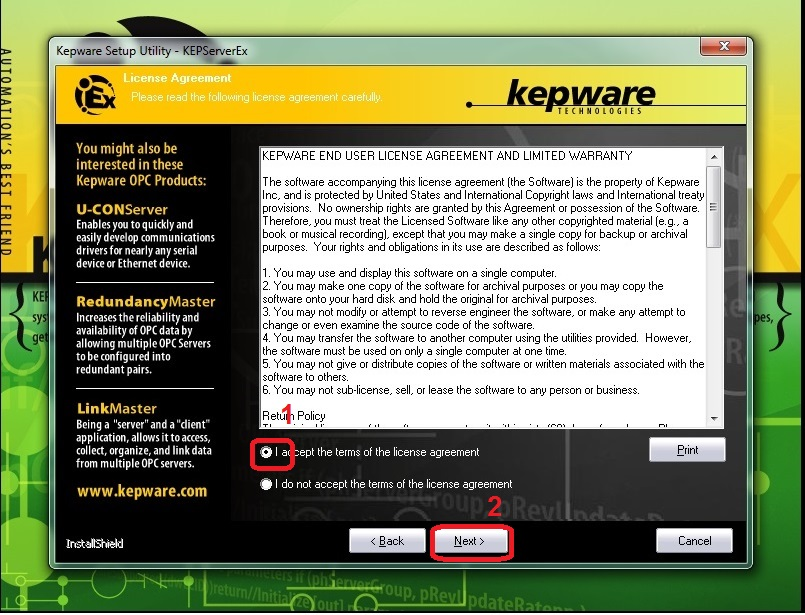 Kepware Clientace Example