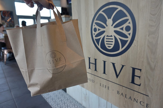 Hive Leeds lunch food
