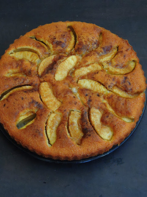 Eplekake, Norwegian Cake with apples