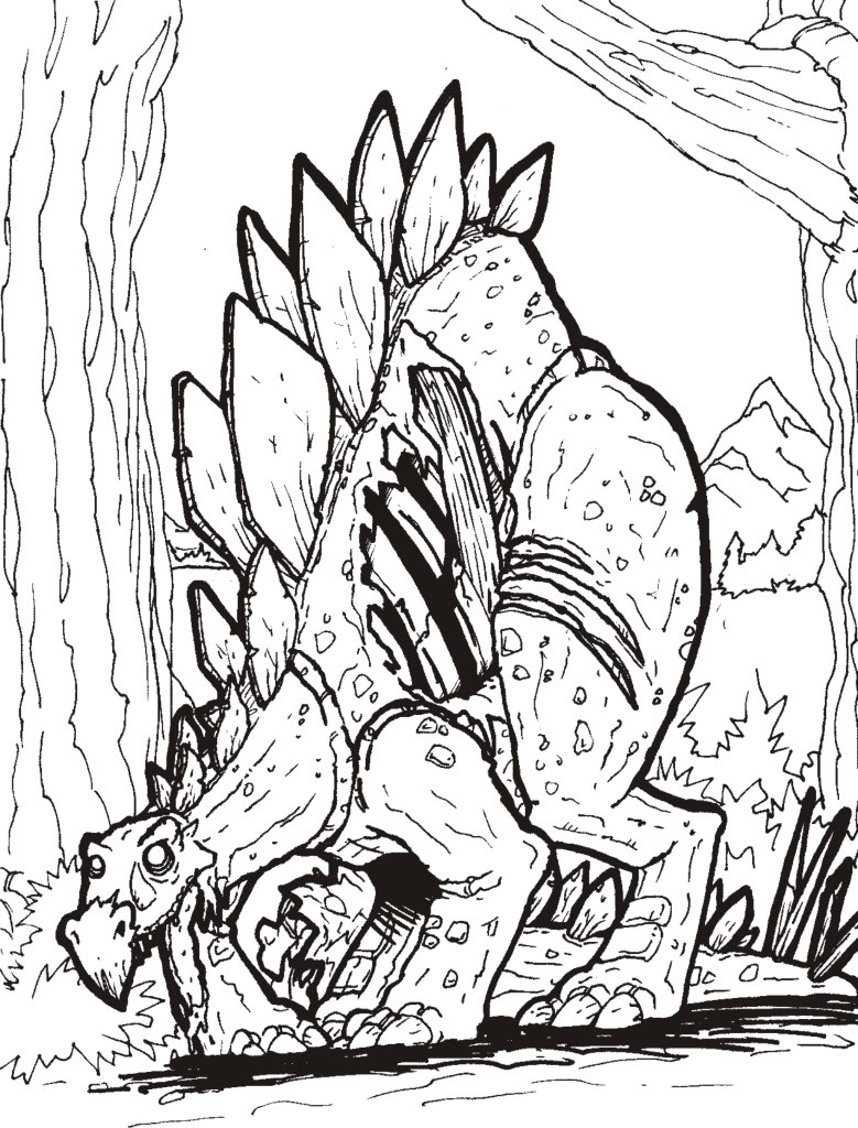 graboid coloring pages-#10