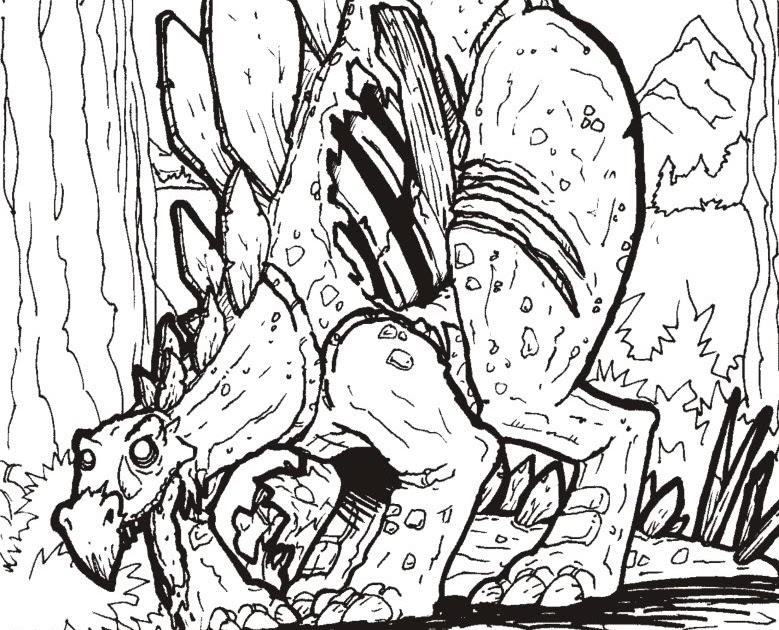 RAGECRUSHDESTROY: Zombie Stegosaurus