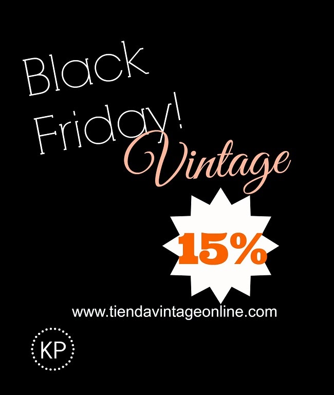 Black friday vintage ofertas descuentos