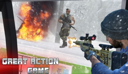 Sniper Train War Apk