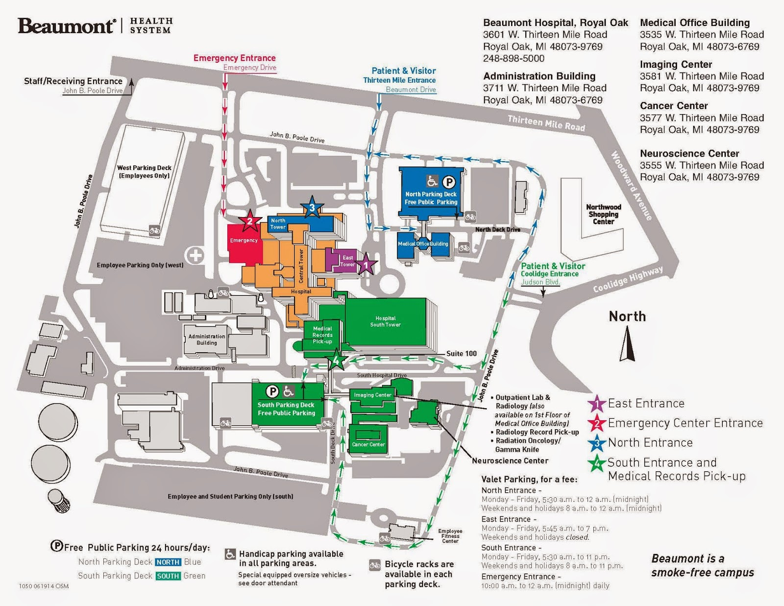 Henry Ford Hospital Campus Map.Cehhs Blog May 2015