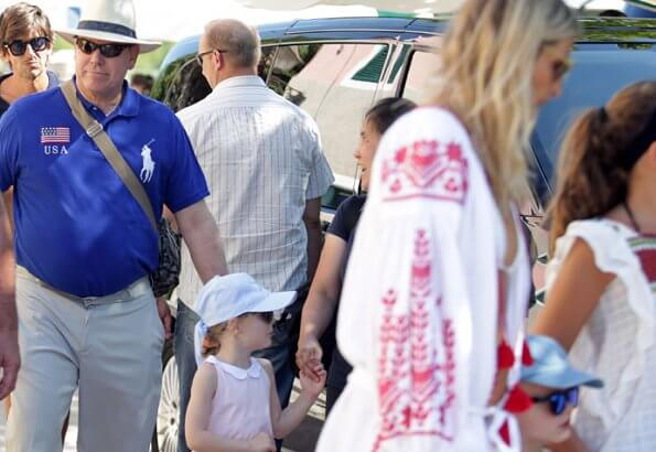 Prince Albert visited Croatia with his superyacht Arience together with Princess Charlene, Prince Jacques and Princess Gabriella