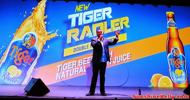 Tiger Radler, Double Refreshment, tiger beer malaysia, tiger beer, party, kl live, stand up comedian