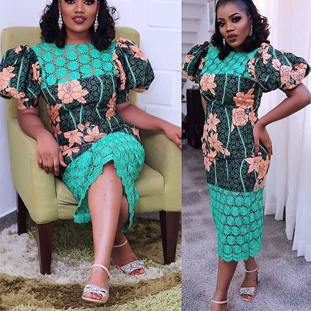 Stylish Ankara and Lace Combination Styles for Ladies - DeZango ...