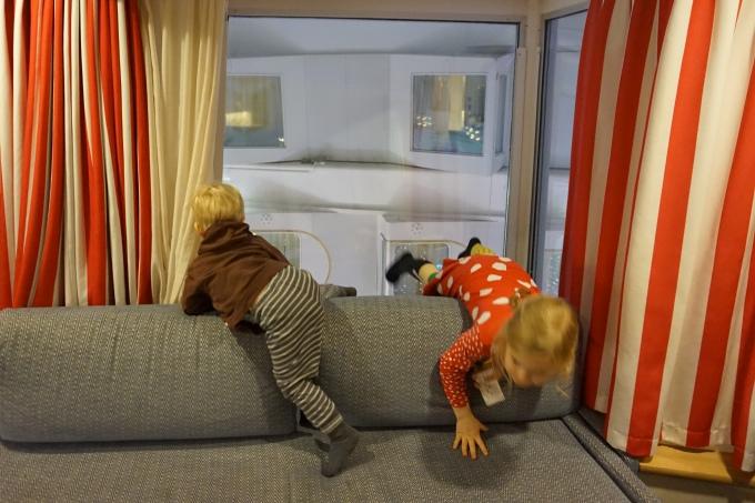 Silja Symphony kokemuksia Muumi-hytistä / Lasten kanssa tekemistä Tukholman-risteilyllä