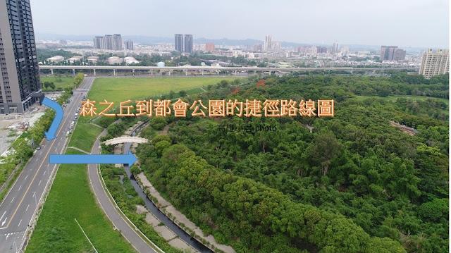 森之丘到都會公園的捷徑