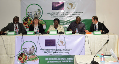 Kick Off Meeting (KOM) and 1st General Assembly (GA) of the Long-term Europe-Africa Partnership for Food and Nutrition Security, and Sustainable Agriculture (LEAP4FNSSA)