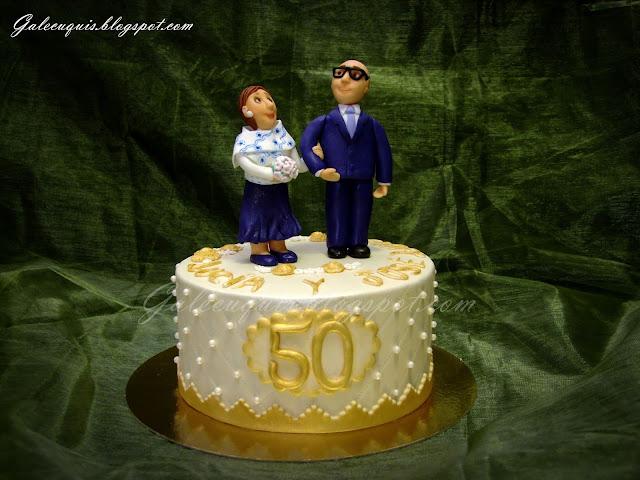 tarta bodas de oro