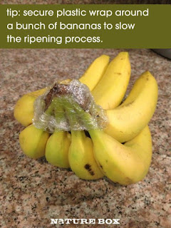 8. Wrap up your bananasif you do n't want them to ripen too quickly.