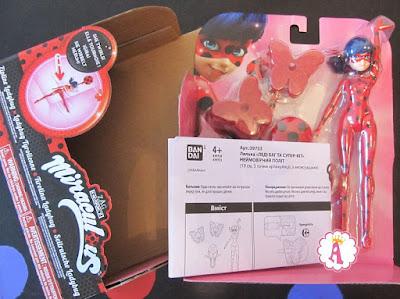 Распаковка куклы Леди Баг