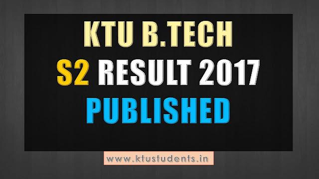 ktu s2 result