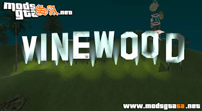 Vinewood do GTA V para GTA SA V3.0 Final