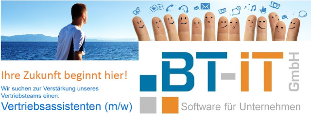 Stellenangebot: Vertriebsassistenten (m/w) - BT-IT GmbH - www.bt-it.de