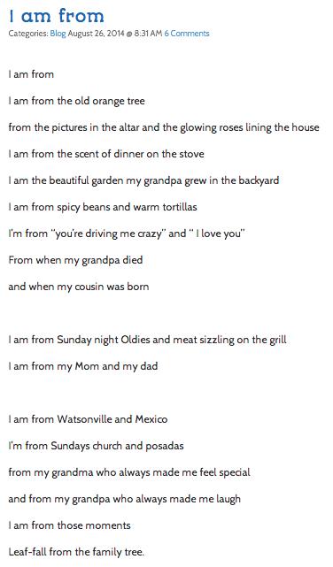 i am poem examples