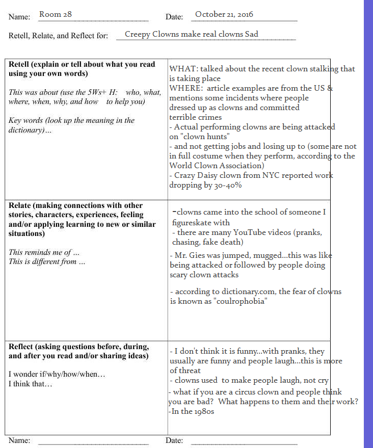 educational reflections with Mr  P, OCT: Homework, Group Reading