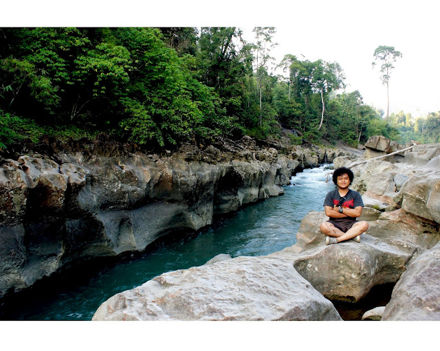 "BEAUTIFUL RIVER KUALA PARET ""MINI CANYON"" FROM ACEH TAMIANG"
