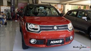 New Suzuki Ignis di NJS Soekarno Hatta Bandung.