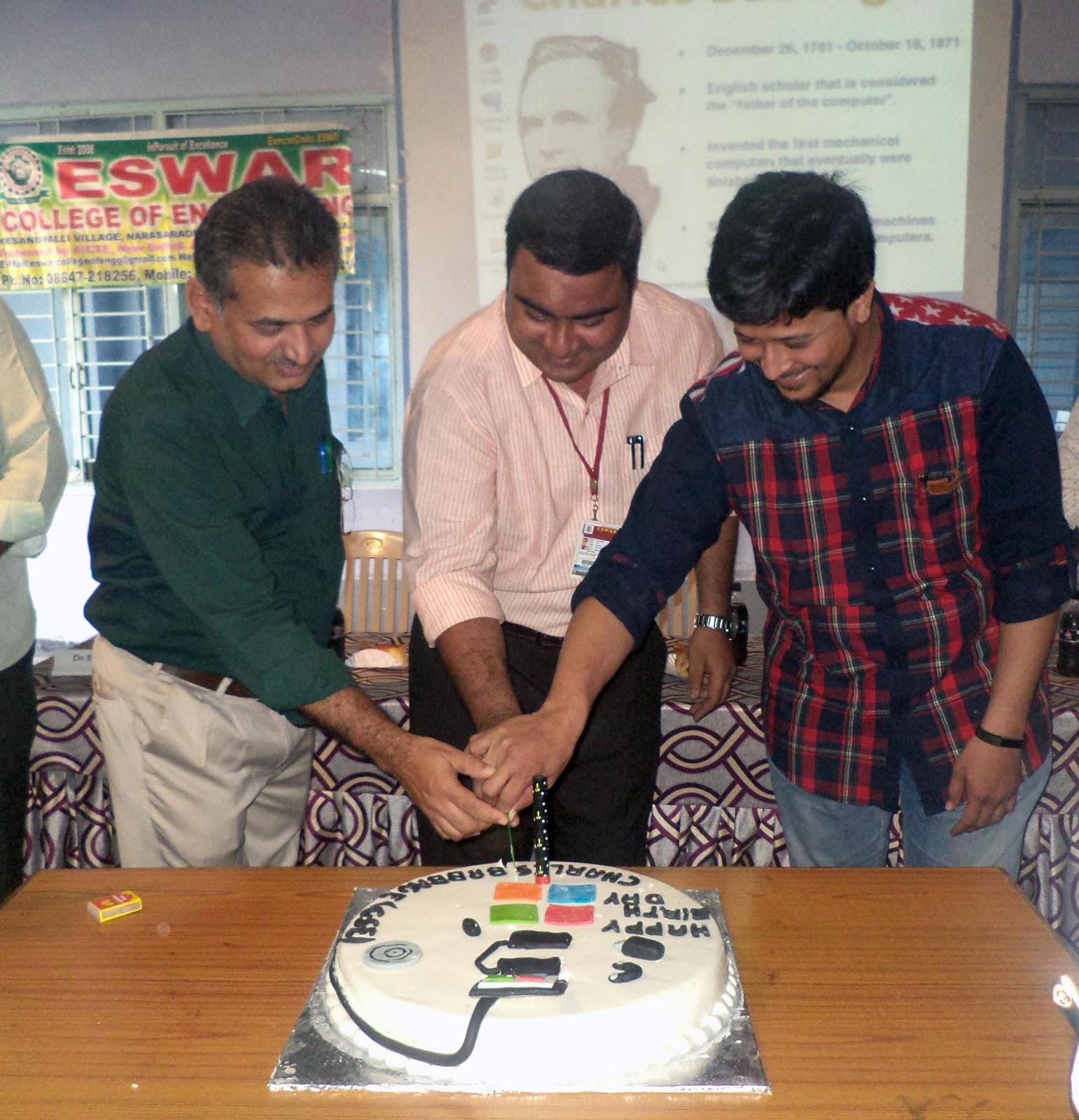 Eswar College of Engineering Blog: CHARLES BABBAGE BIRTH