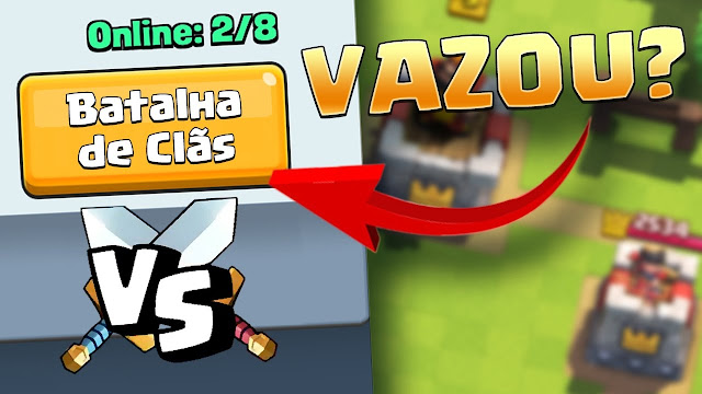 Batalha de Clãs no Clash Royale