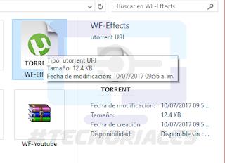 Archivo torrent creado