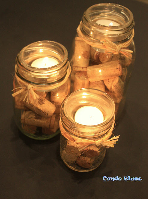 Condo Blues How To Make A Quick And Easy Wine Cork And
