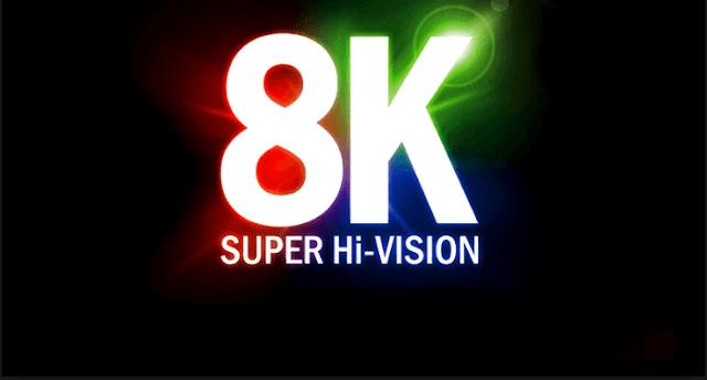 لاول مرة فى العالم اليابان تطلق أول قناة تلفزيونية تبث المحتوى بتقنية 8K