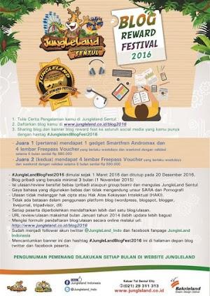 Jungle Land Blogger Reward Festival 2016