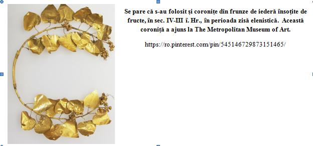 coronita frunze iedera