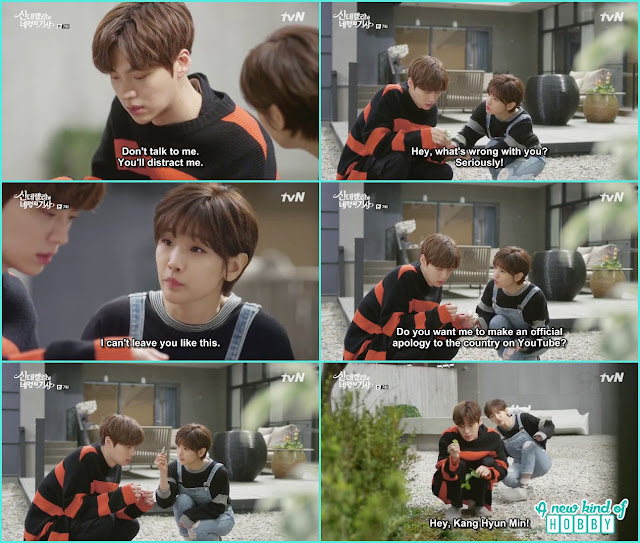 hyun min at the garden counting i love her i love her not - Cinderella and Four Knights - Episode 7 Review - I Love Her, I Love Her Not