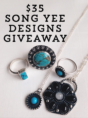 song yee designs, handmade jewelry giveaway, shop credit giveaway, contest, sweepstakes, freebie friday, win free stuff