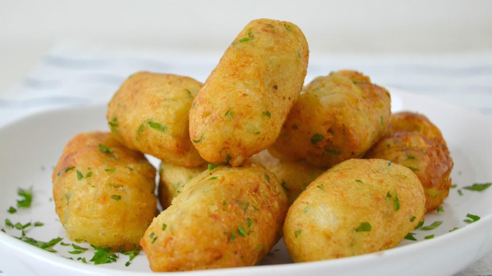 Alb ndigas de bacalao y patata cuuking recetas de cocina - Albondigas de patata ...