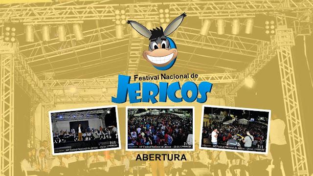 Primeiro dia do 44º Festival Nacional de Jericos de Panelas-PE