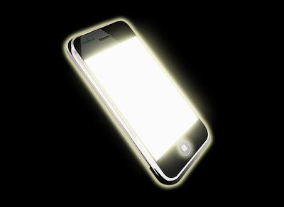 Smartphone sebagai media pengganti Senter