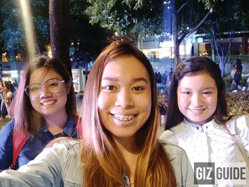 Selfie lowlight V9