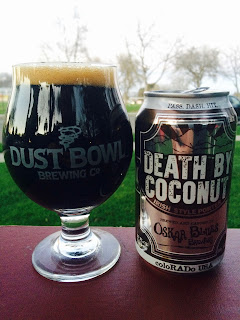 Oskar Blues Death By Coconut Irish Porter 1