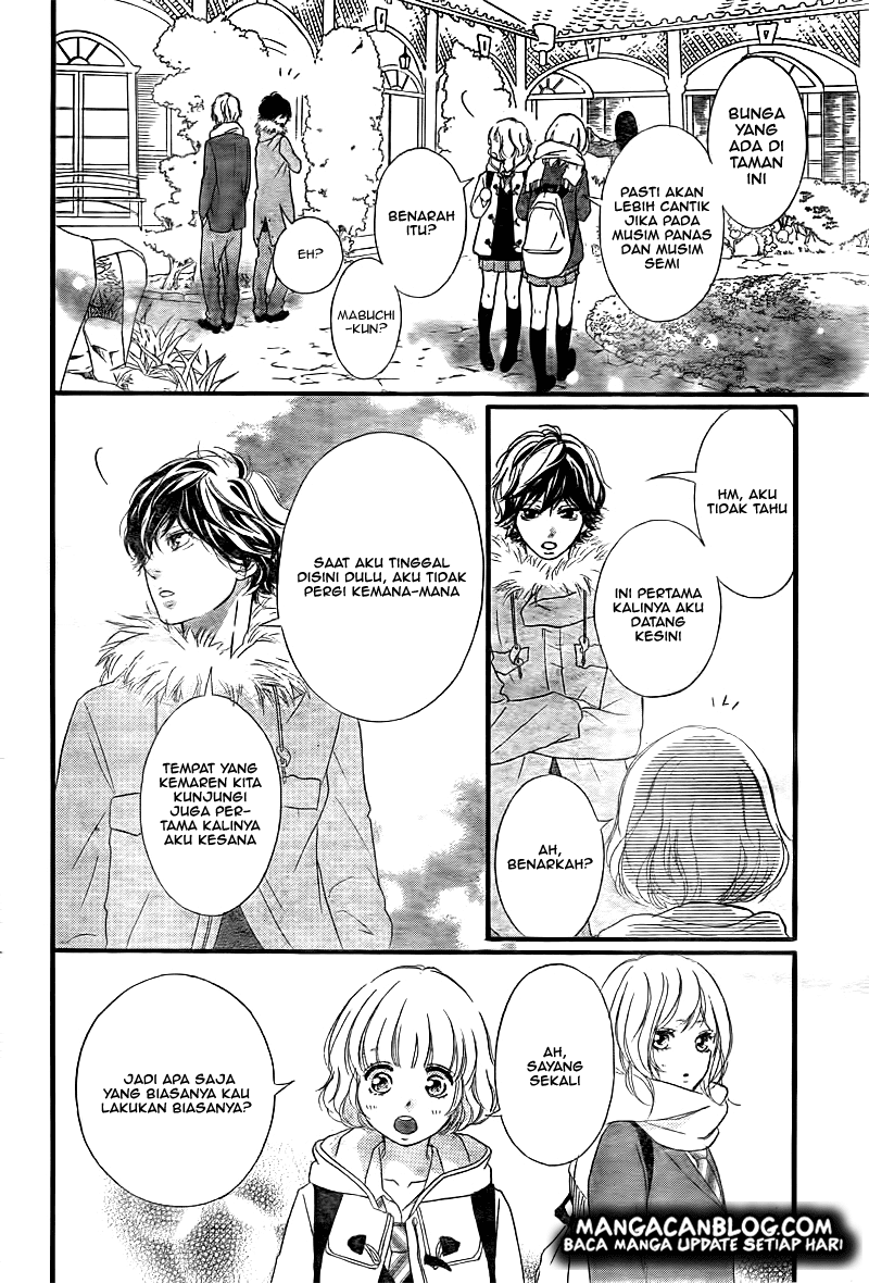 Ao Haru Ride Chapter 37-35