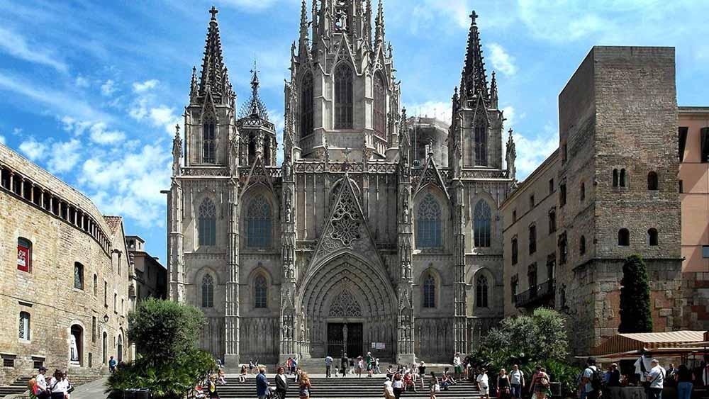 Resultado de imagen de imagenes del barrio gotico de barcelona