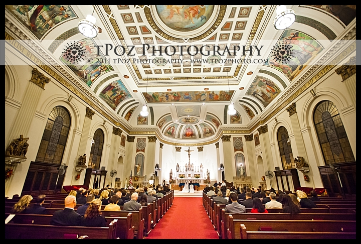 St. Casmir's Church Baltimore Wedding Ceremony