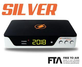 Atualização Azamerica Silver V 1.09