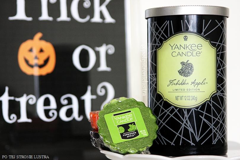 Yankee Candle Forbidden Apple - zakazane jabłko na Halloween